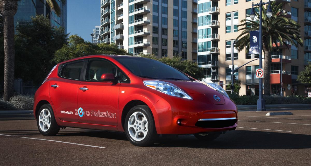 World car of the year 2011 : la Nissan Leaf encore finaliste