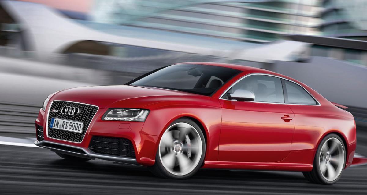 L'Audi RS5 élue Sports car 2010