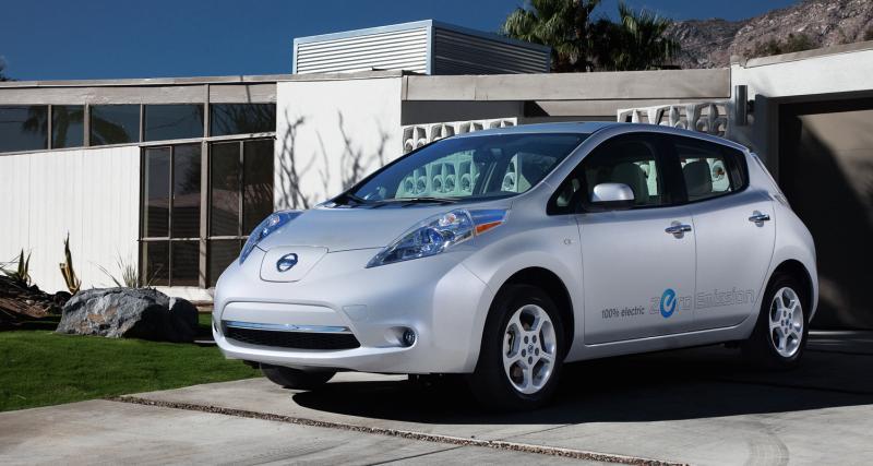 Nissan Leaf : Voiture européenne de l'année 2011