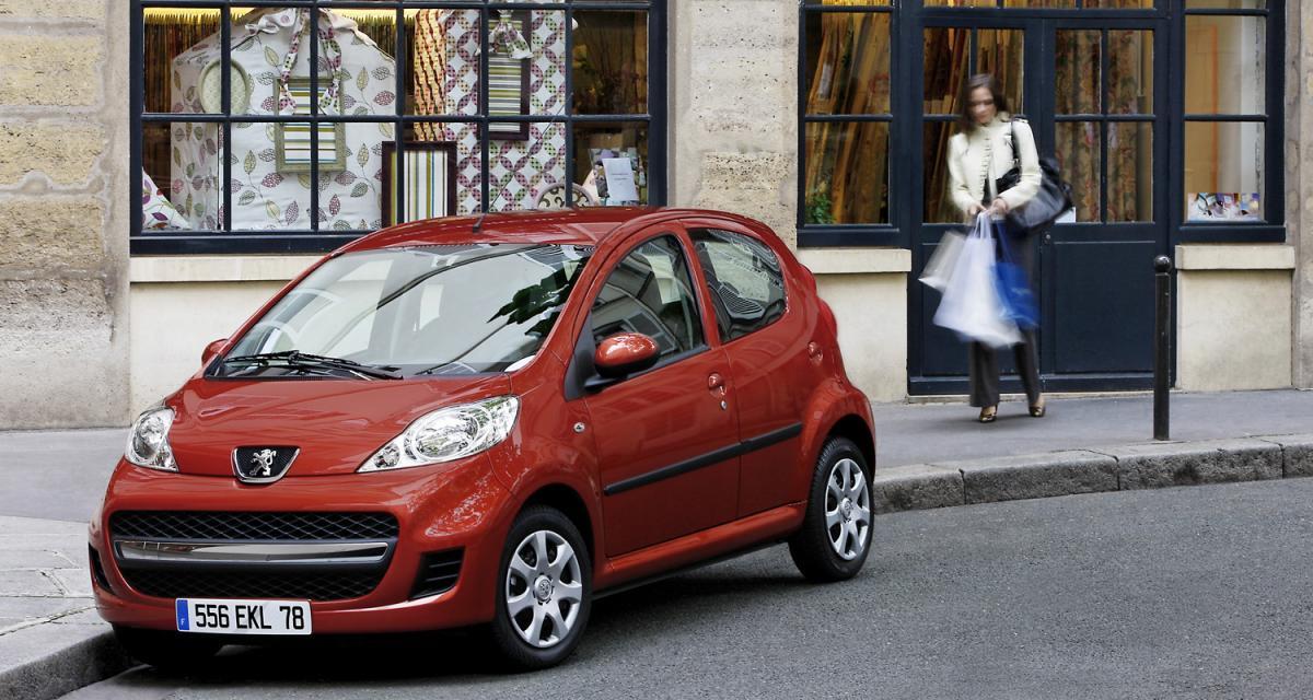 Peugeot 107 : une affaire qui roule