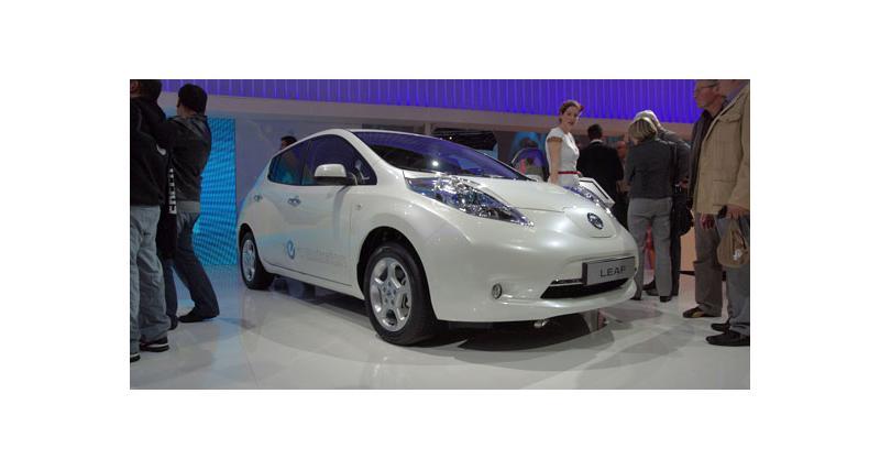 Nissan Leaf : prête à l'emploi