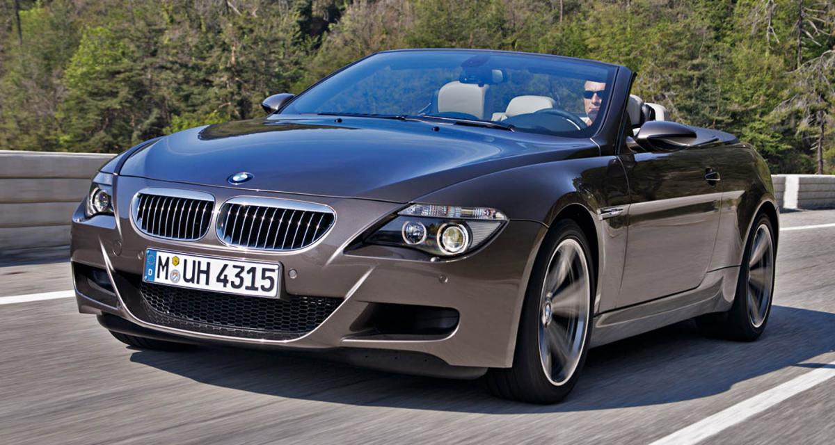 BMW M6 : requiem pour un V10