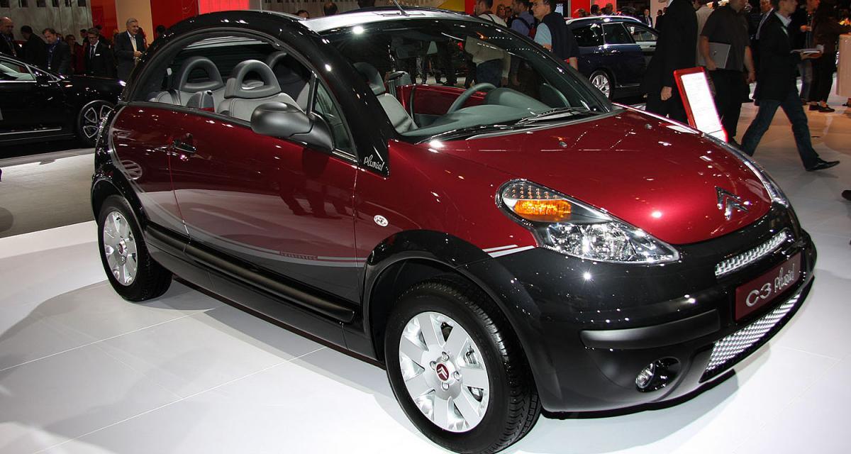 PSA : rideau sur la Citroën C3 Pluriel et la Peugeot 607