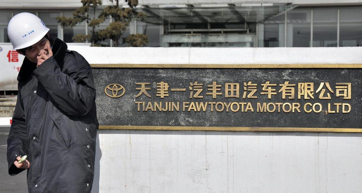 Toyota : la grève menace en Chine