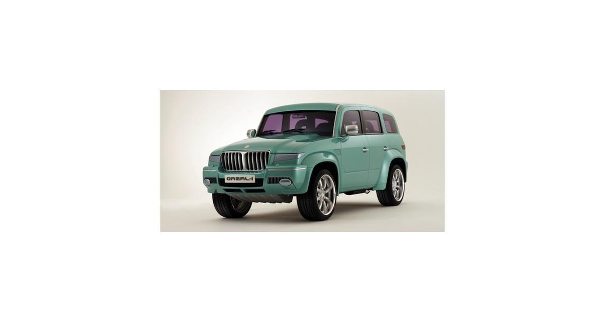 Gazal 1, la voiture du désert