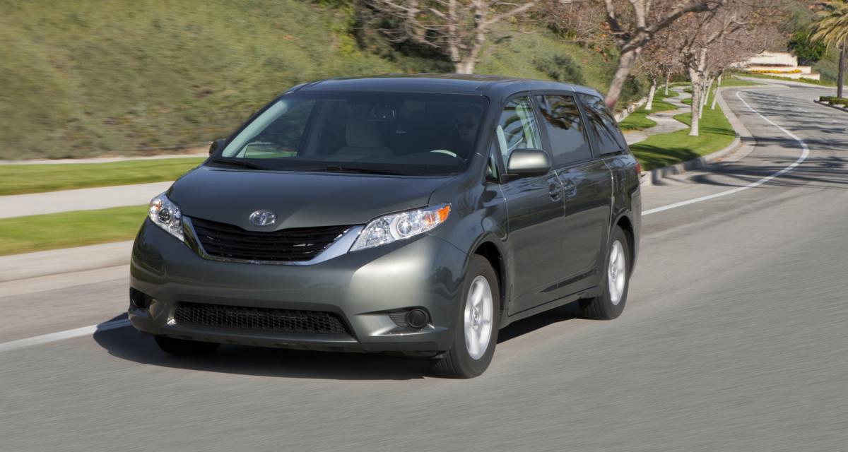 Toyota : récompensé pour la sécurité de ses modèles