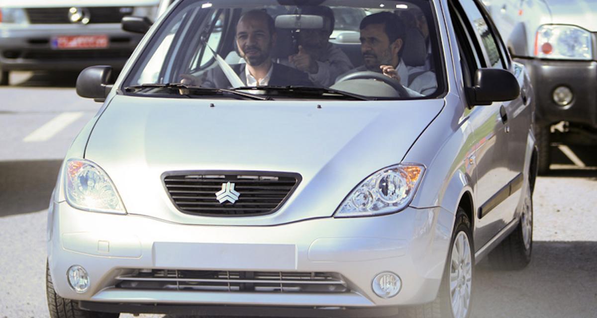 L'Iran veut sa voiture à lui
