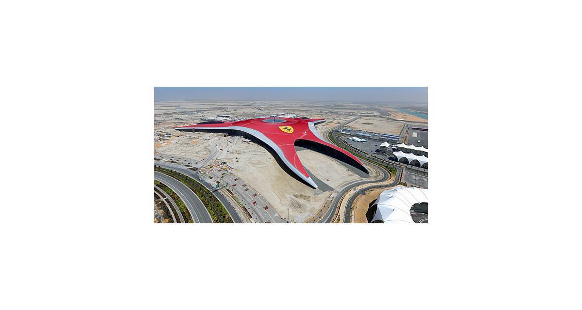 Ferrari lance son parc d'attractions à Abu Dhabi