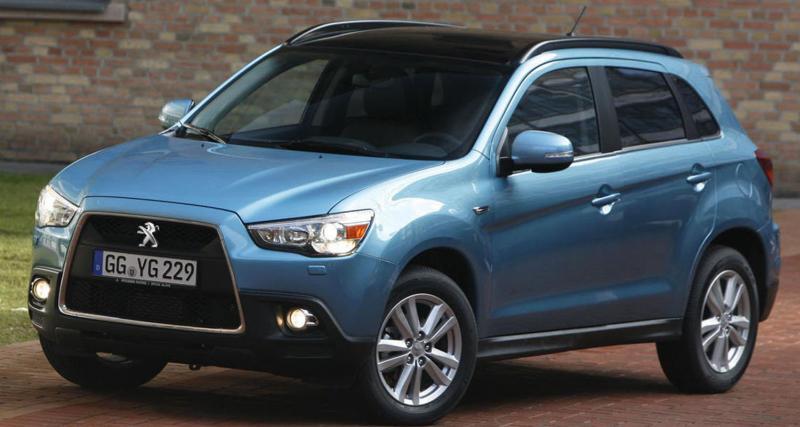 PSA-Mitsubishi : un nouveau SUV en 2012