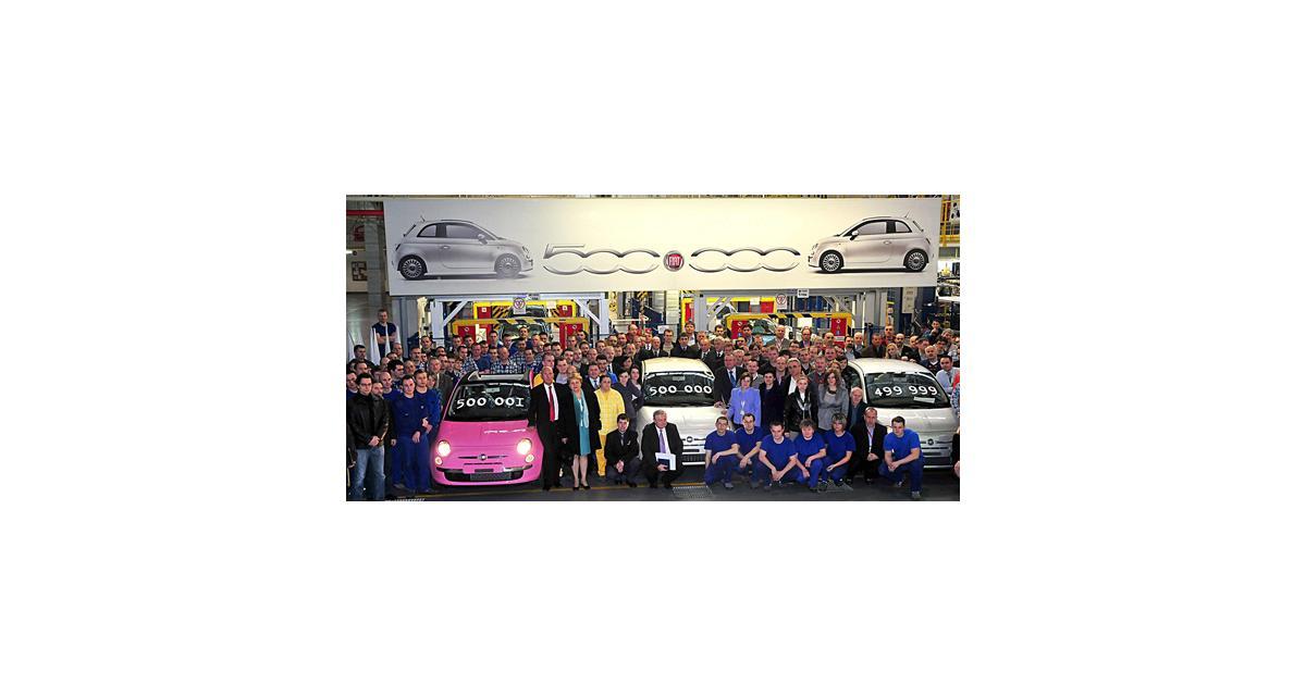 500 000 Fiat 500 et 30 ans de Panda : Fiat en fête !