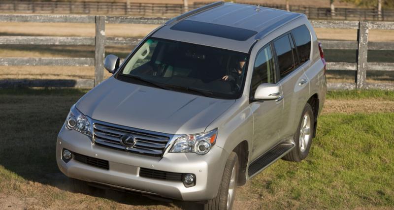 Toyota suspend la vente du Lexus GX 460