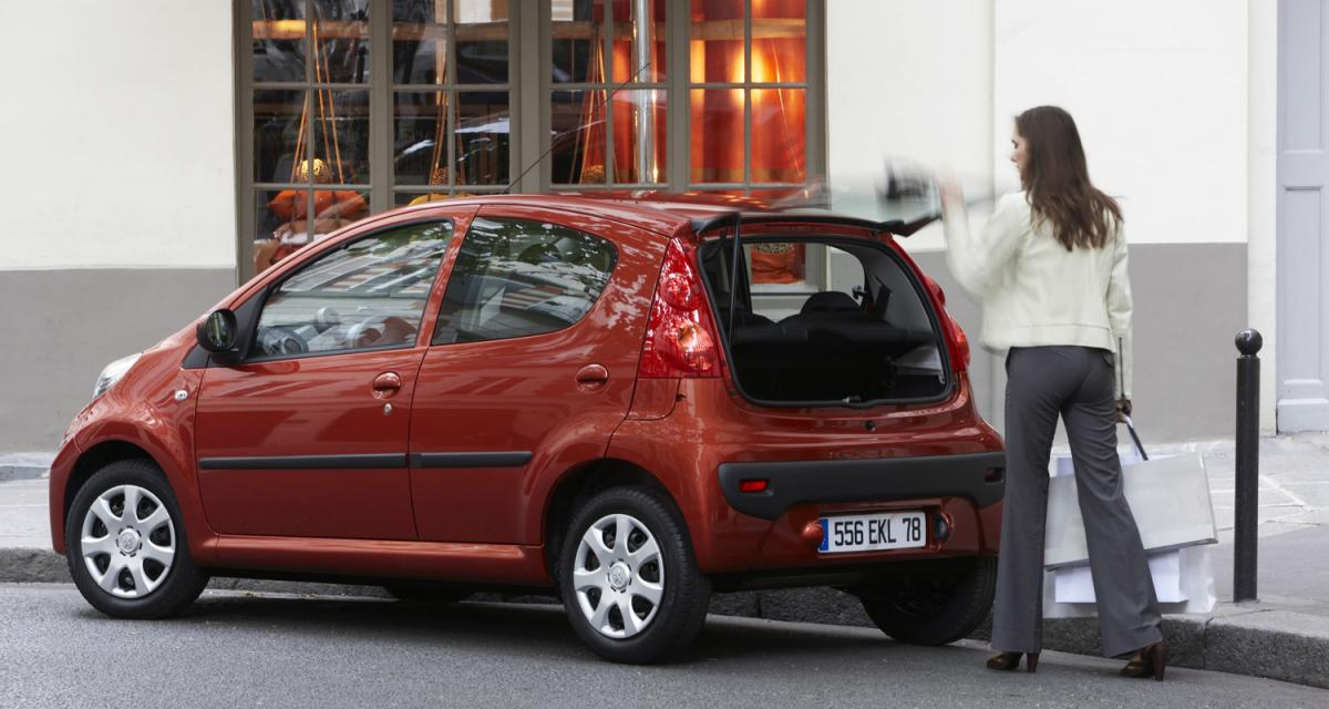 Peugeot 107 et Citroën C1 : rappel de 97 000 exemplaires