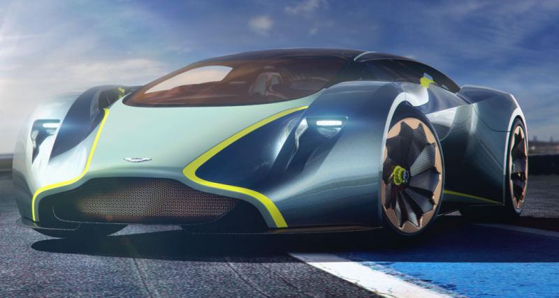Aston Martin hypercar : plus de 1000 ch et 3 millions d'euros