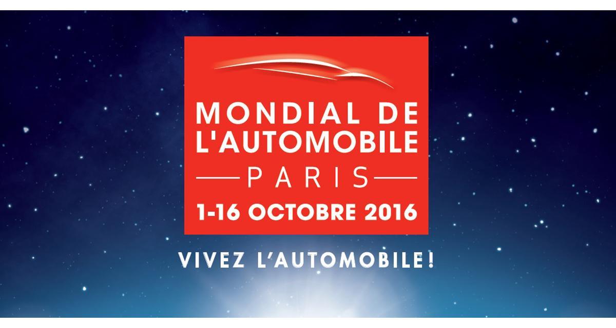 Mondial de l'Automobile 2016 : toutes les nouveautés