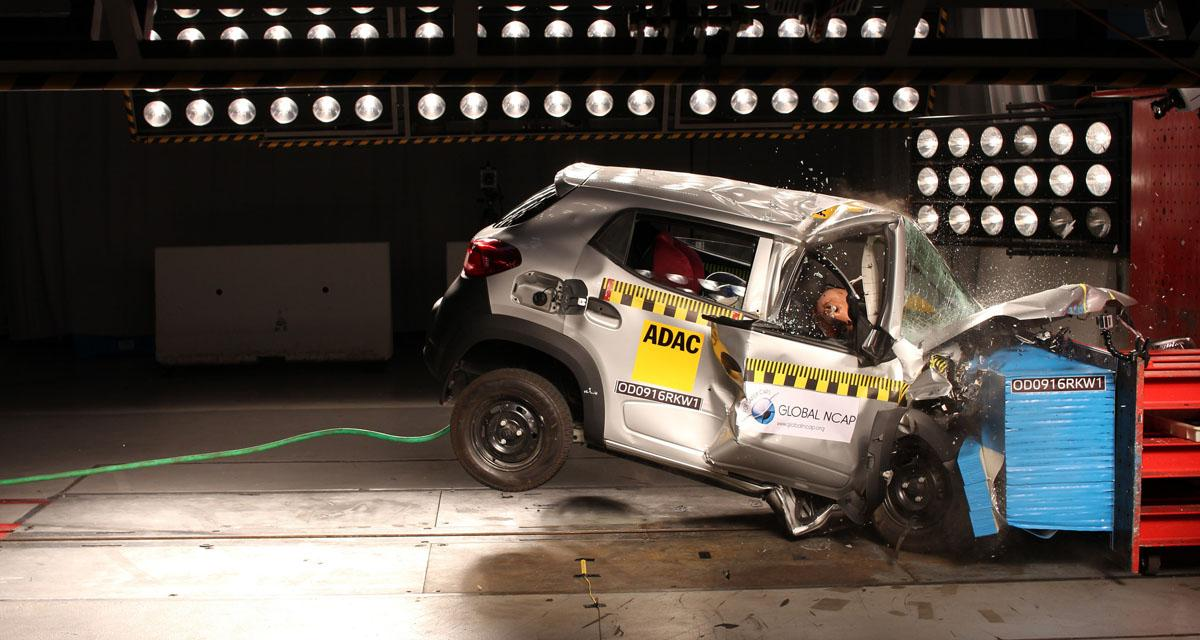 Renault Kwid : la sécurité en question