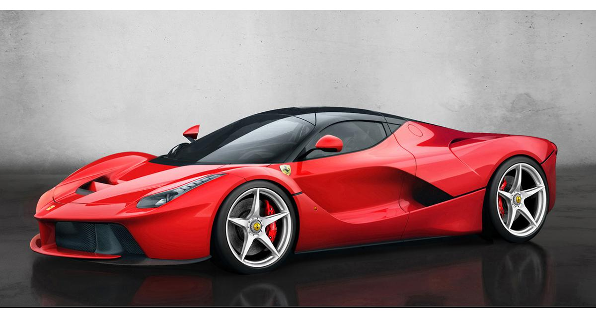 Ferrari : bientôt une version spider de LaFerrari
