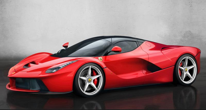 Ferrari : bientôt une version spider de LaFerrari