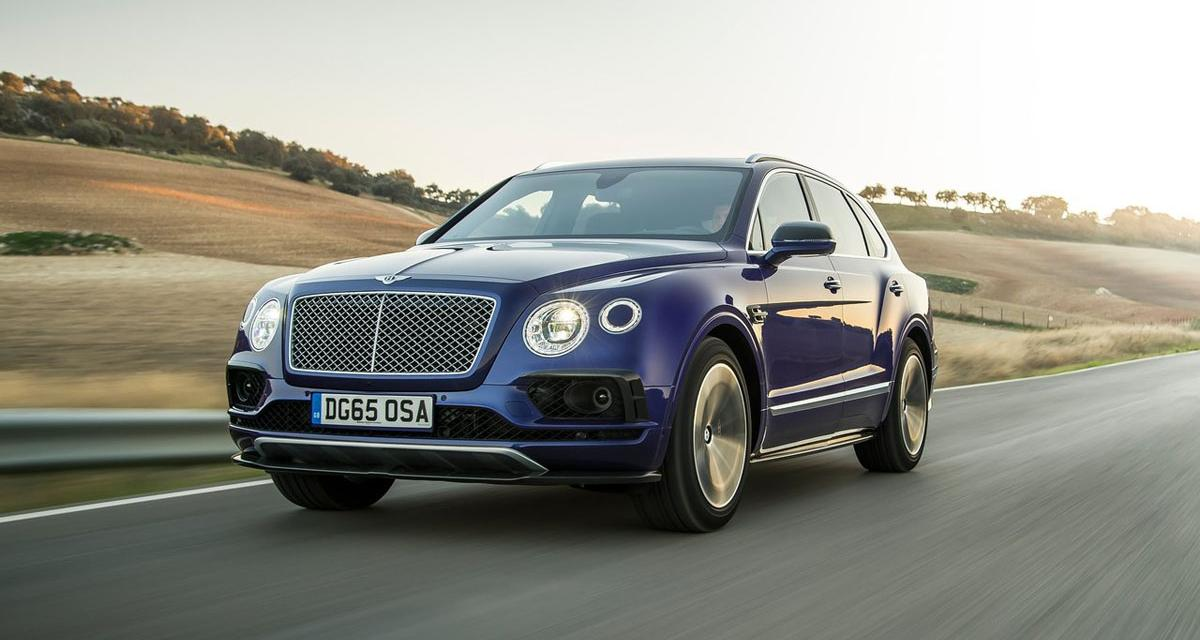 Bentley Bentayga : une version Speed dans les cartons