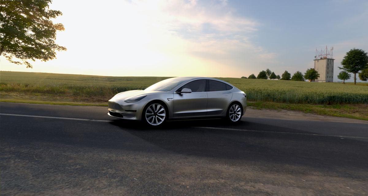 Tesla Model 3 : une version Diesel dans les cartons
