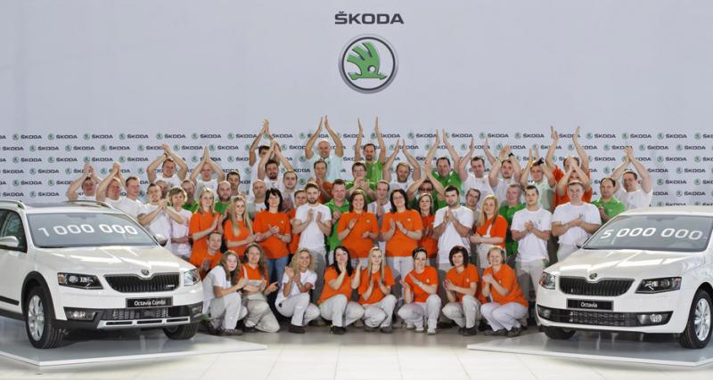 La Skoda Octavia III passe le cap du million