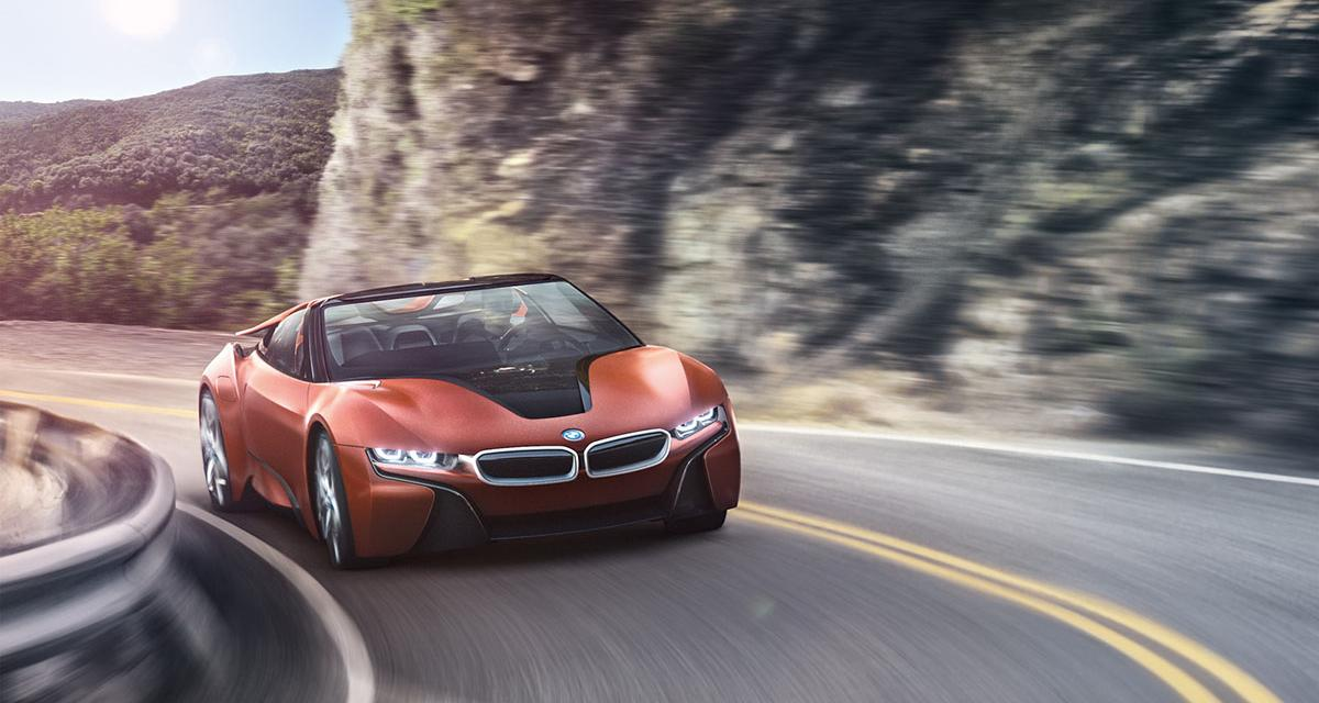 BMW : une i8 roadster et une Mini hybride au programme