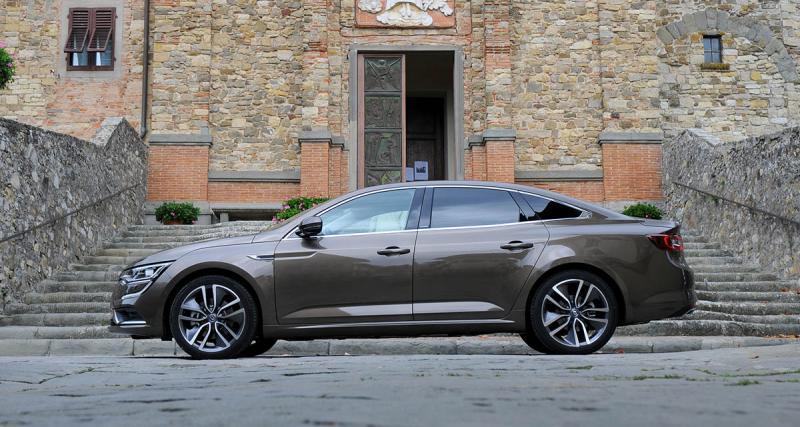 La Renault Talisman élue plus belle voiture de l'année