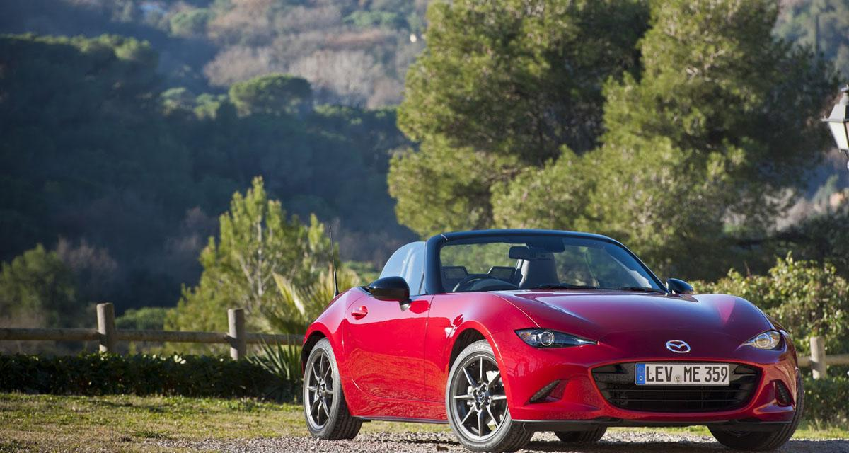 Mazda MX-5 : une targa à la place du Roadster Coupé ?
