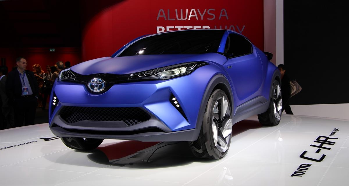 Toyota : l'anti-Juke arrive pour Genève 2016