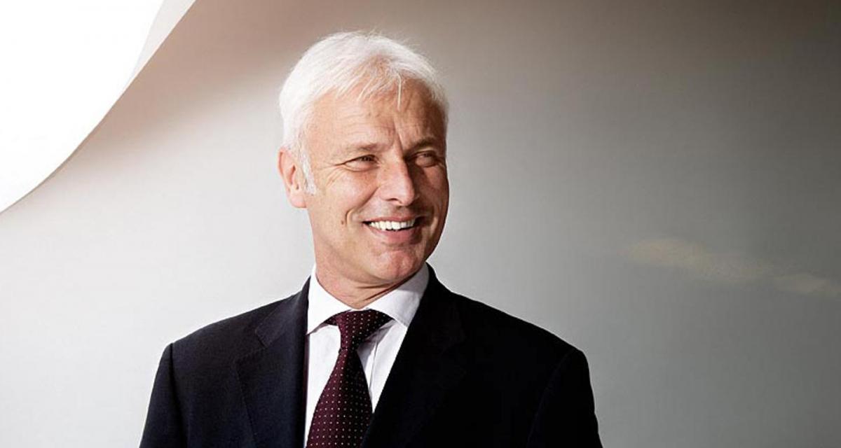 Matthias Müller prend les rênes du groupe Volkswagen