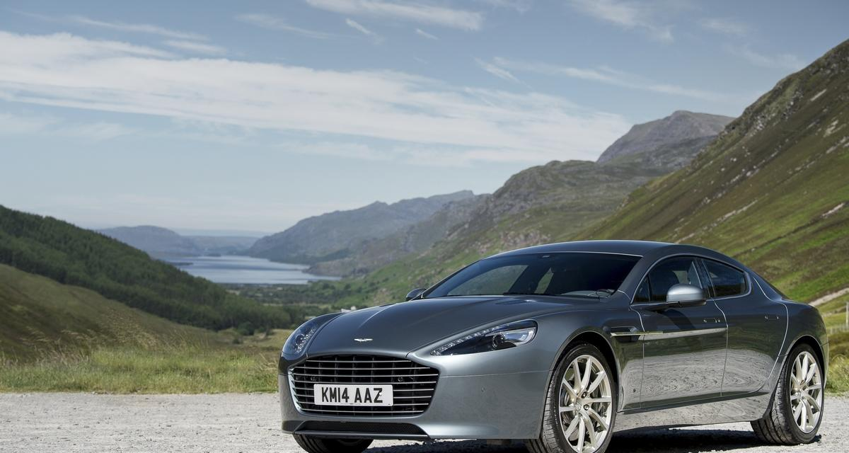 Une Aston Martin Rapide électrique de 800 ch en 2017