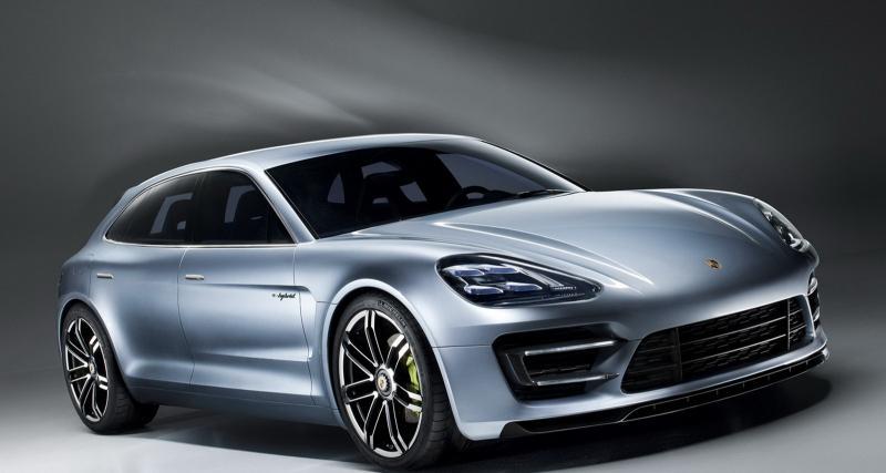 Porsche Pajun: une petite soeur pour la Panamera à Francfort