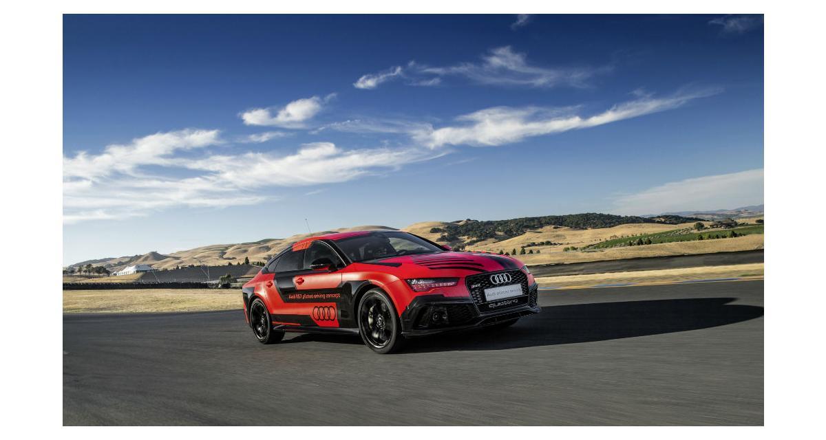 Une Audi RS7 autonome plus rapide qu'un pilote