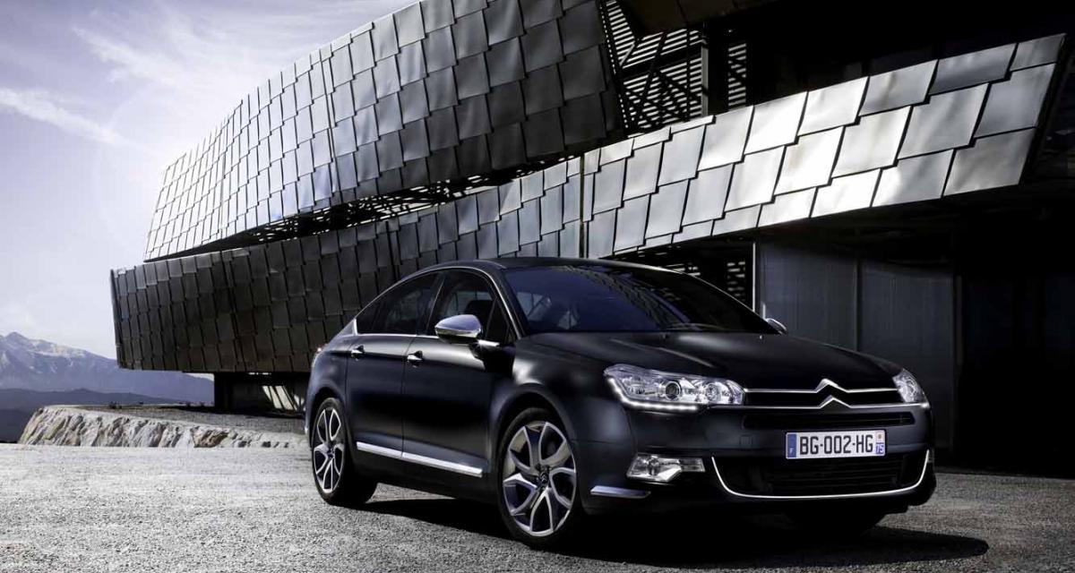 Citroën C5 : une gamme revue au minimum