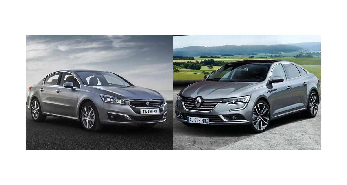 La Renault Talisman face à la Peugeot 508 : le comparatif