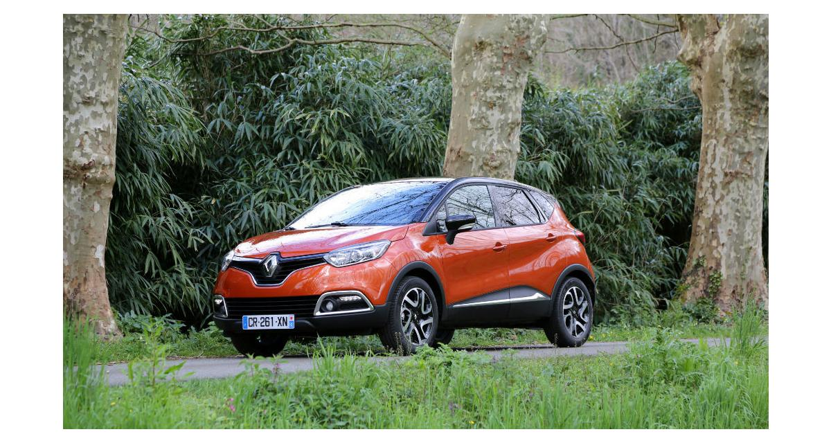 Top 10 des ventes : le Renault Captur devance la Peugeot 208
