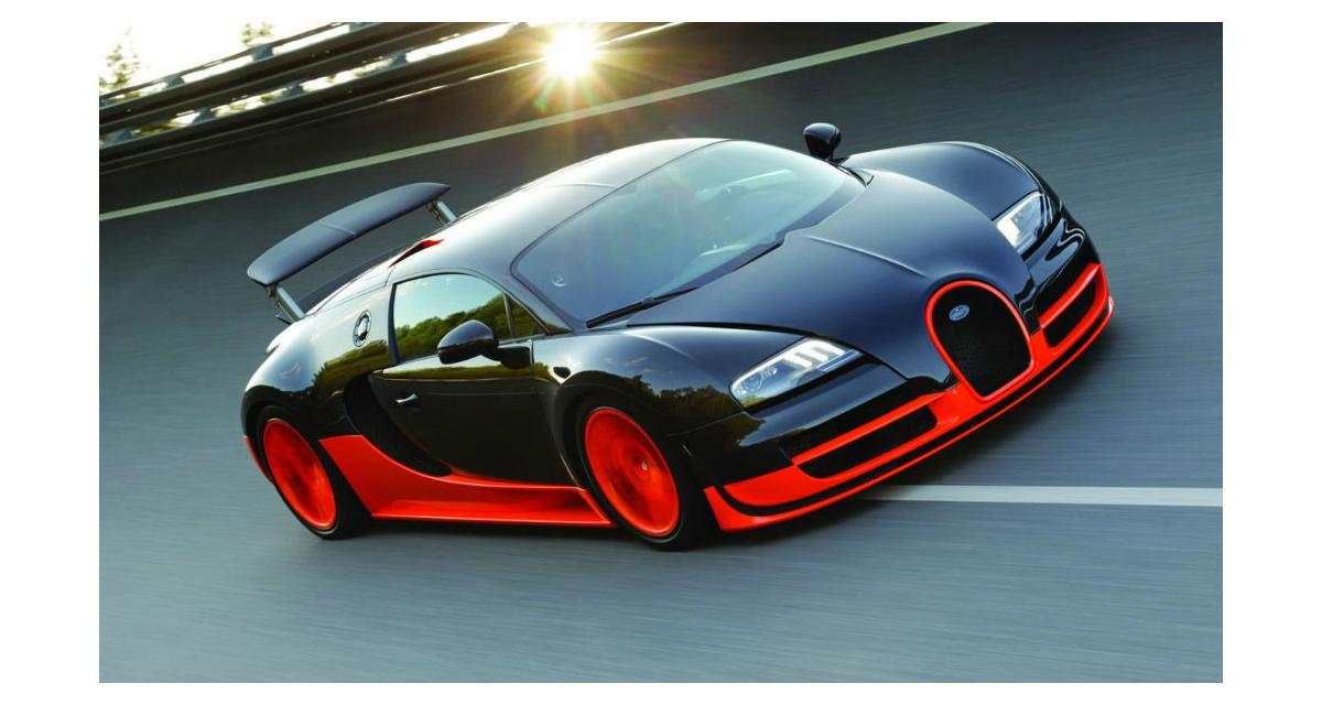 La Bugatti Chiron pourrait faire appel à l'hybridation