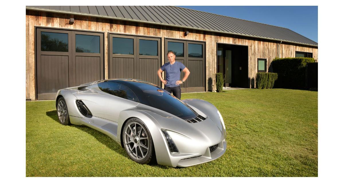 DM Blade : La première supercar produite en impression 3D