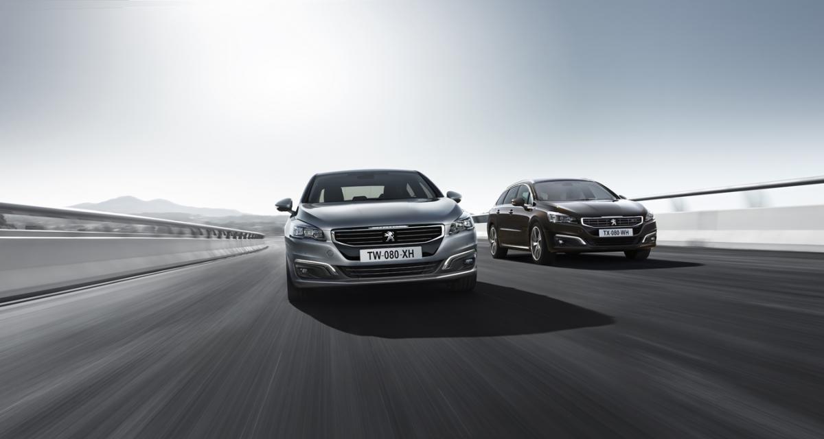 La prochaine Peugeot 508 se conduira toute seule dans les bouchons