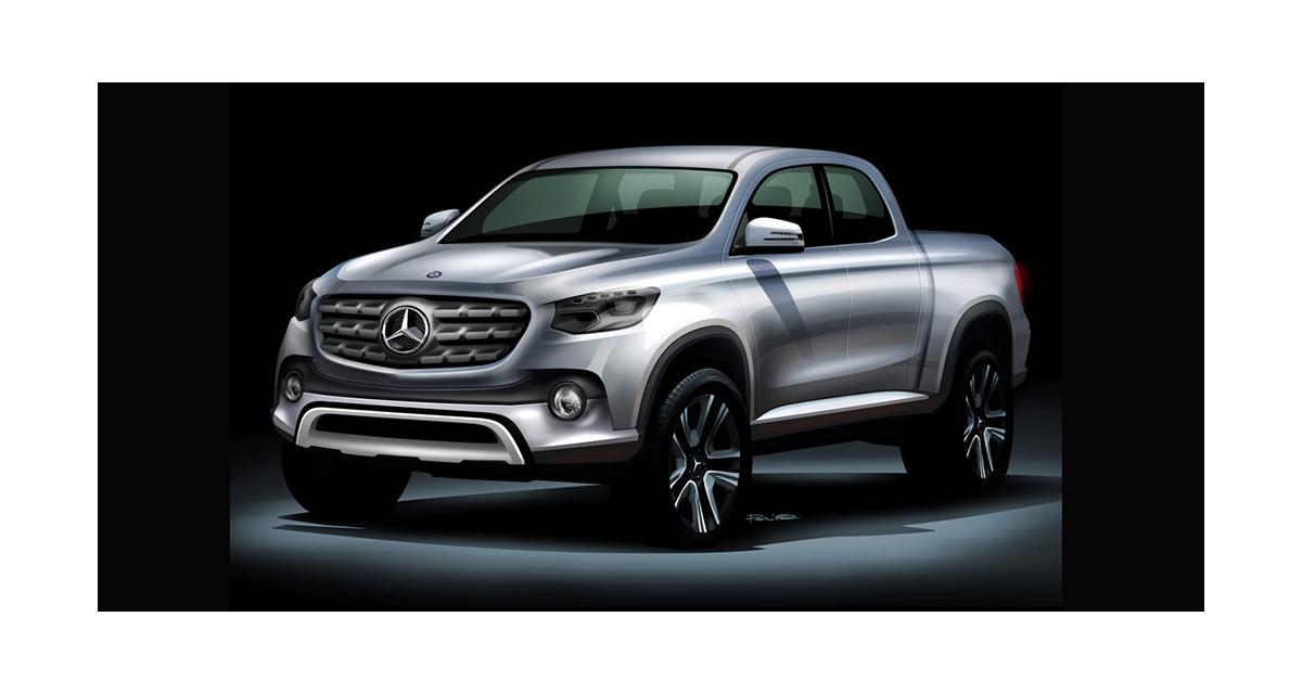 Mercedes prépare son pick-up