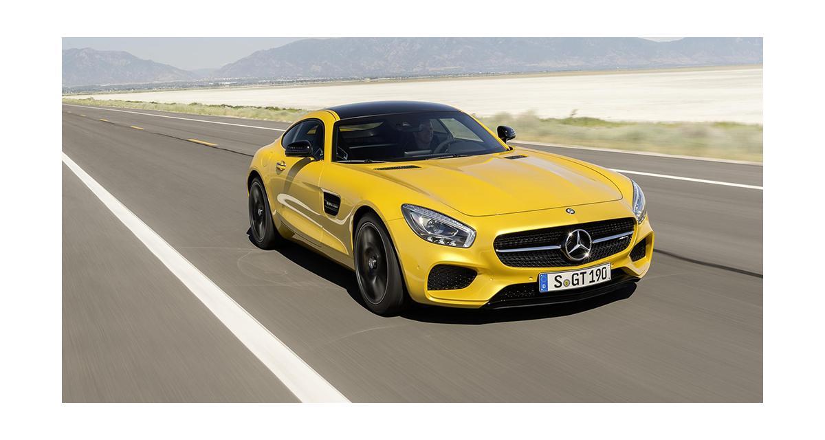 Mercedes-AMG GT : une variante GT3 pour 2016 ?