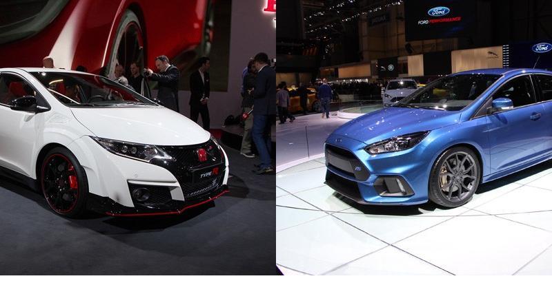 Honda Civic Type R contre Ford Focus RS : qui sera la reine ?