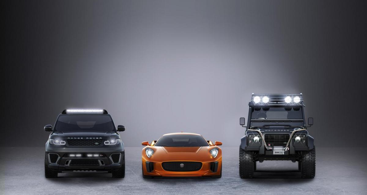 James Bond : une Jaguar et des Land Rover pour le Spectre