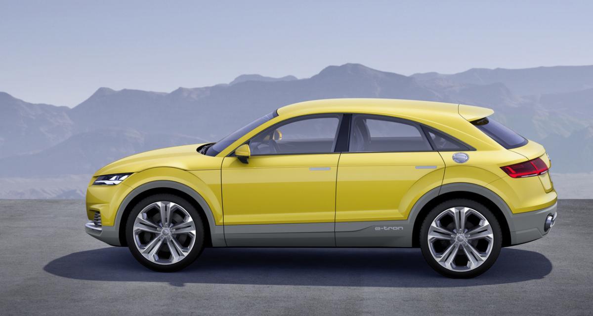 Audi TT SUV : c'est oui