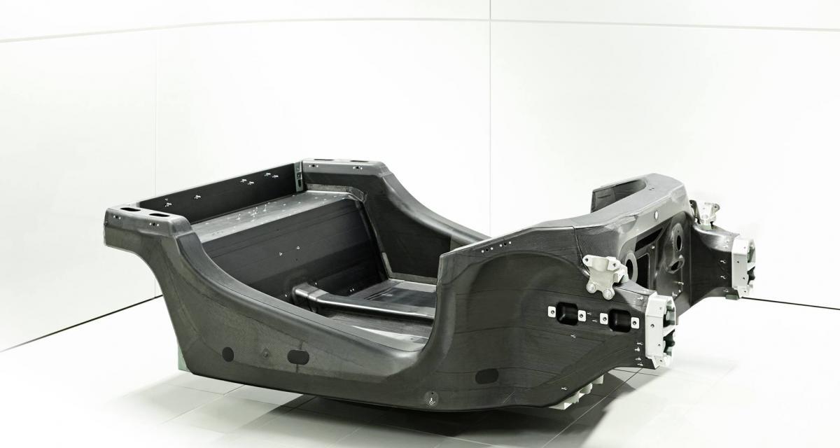 McLaren Sport Series : le châssis monocoque en image