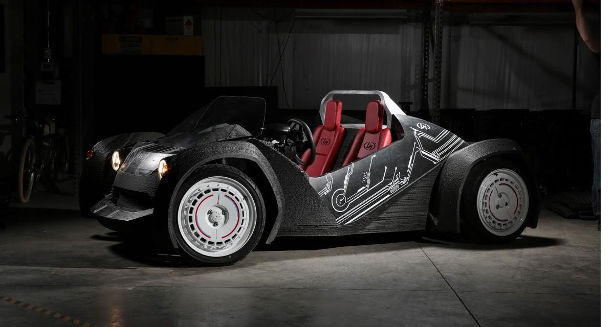 Local Motors Strati : une vraie voiture imprimée en 3D