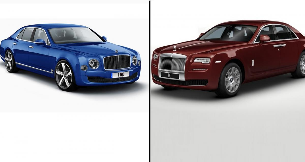 Bentley et Rolls-Royce ont battu des records en 2014
