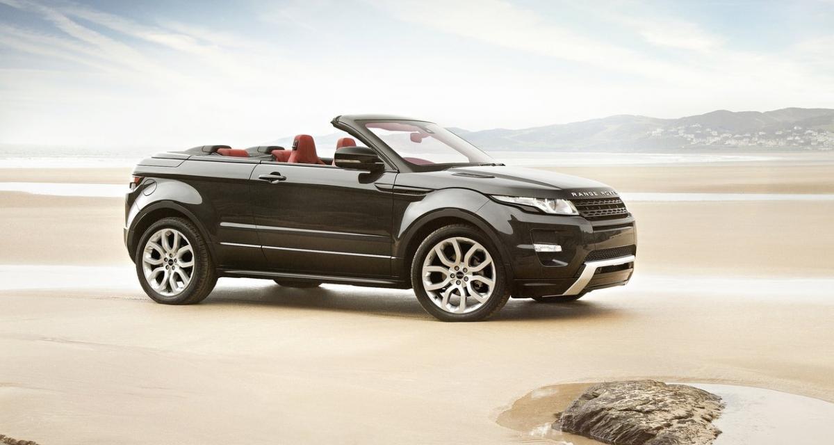 Range Rover Evoque cabriolet : la production en 2015 ?