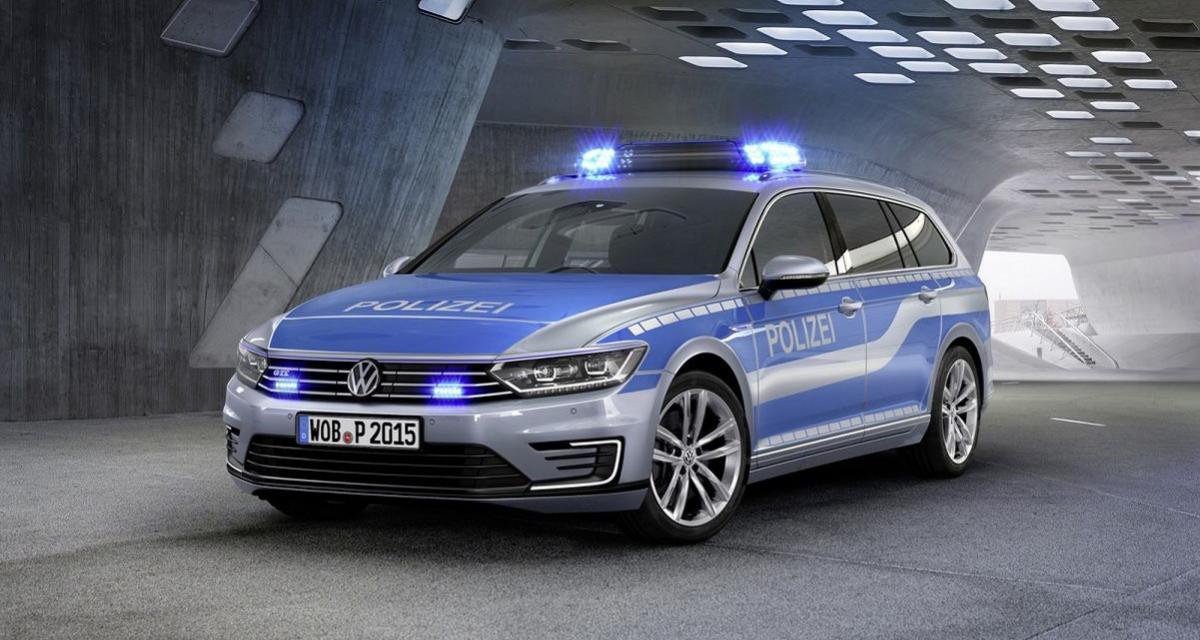 Volkswagen Passat GTE : l'hybride au service de la Polizei