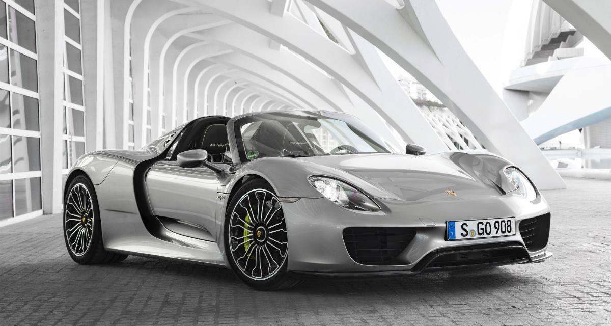 Porsche 918 Spyder : un deuxième rappel