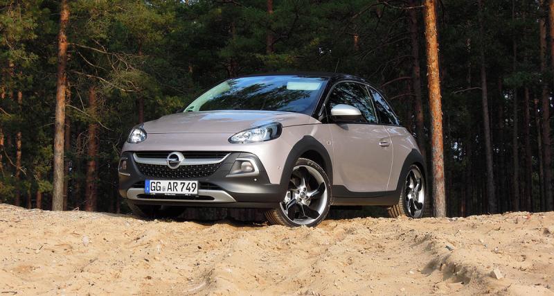 Plus belle voiture de l'année : l'Opel Adam Rocks éliminée
